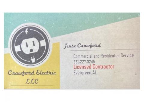 Crawford Electric LLC - Licensed Electrical Contractor, Insured