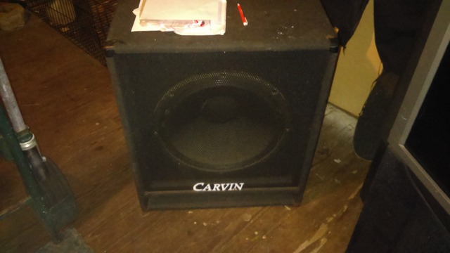 Carvin 18 inch bass cab in St pete, Pinellas, Florida - County Buy ...